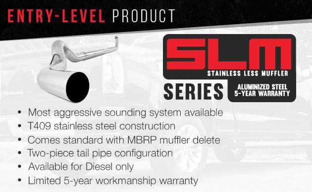 MBRP SLM Series Exhaust